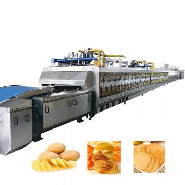Hot Selling Full Stainless Steel Fresh Potato Chips Processing Machinery