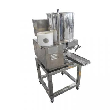 Industrial Patty Hamburger Burger Former Breading Coating Cooking Machine