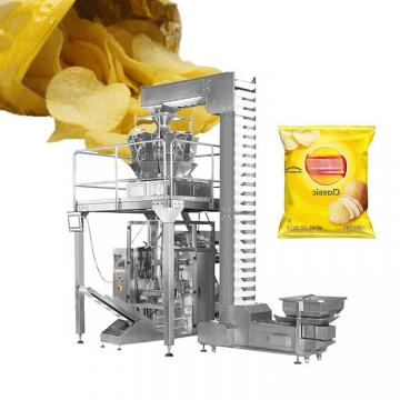 Nitrogen Filling Puffed Foods Potato Chips Stand up Pouch Doypack Bag Automatic Filling Packing Machine