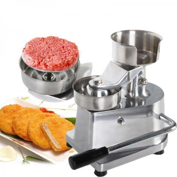 Electric Hamburger Maker Hamburger Press Making Machine #1 image