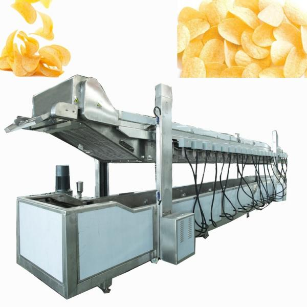 Automatic Potato Chips/Popcorn/Beans/Seeds/Rice/Vegetable/Fruit Packaging Machine, Banana Slices Nitrogen Puffed Food Packing Machine #3 image