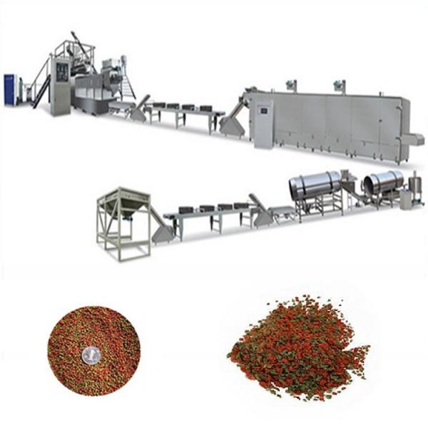 Aquatic Farm Fish/Catfish Floating Pellet Fish Feed Production Equipment From China Factory #1 image