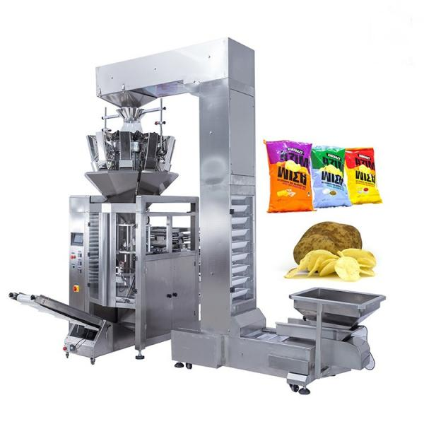 Automatic Potato Chips/Popcorn/Beans/Seeds/Rice Packaging Machine, Banana Slices Nitrogen Puffed Food Packing Machine #1 image